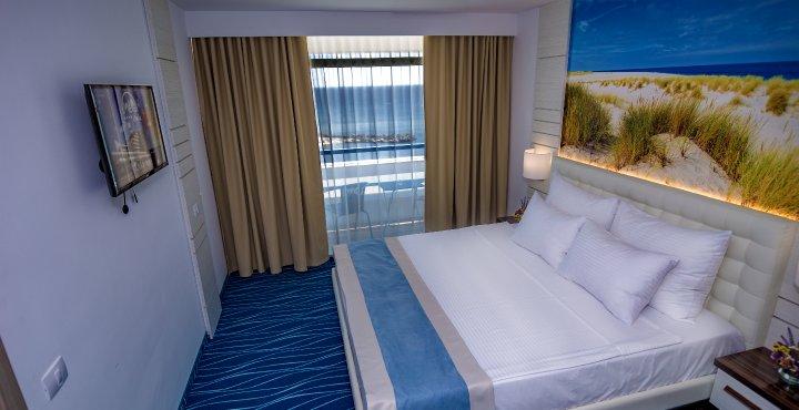 Cazare Cap Aurora - apartament junior - dormitor