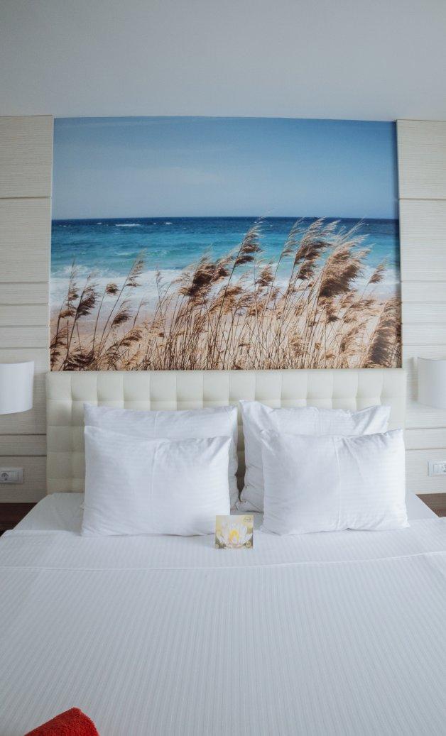 unde ne cazam in Cap Aurora - apartament junior - vedere dormitor