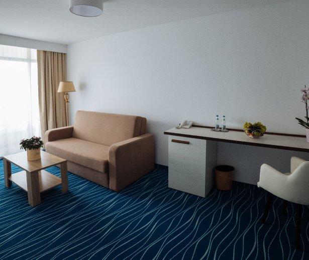 hotel all inclusive la Cap Aurora - apartament junior - vedere sufragerie 2