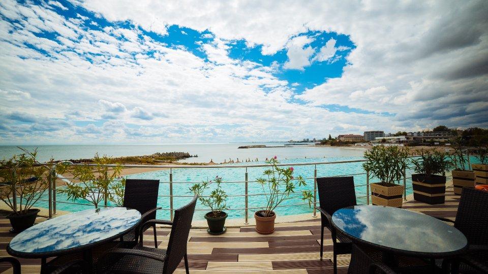 Onix Cap Aurora - apartament junior cu jacuzzi - terasa cu vedere la mare