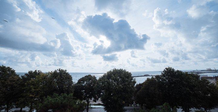 Despre Mera Brise - vedere de la balcon