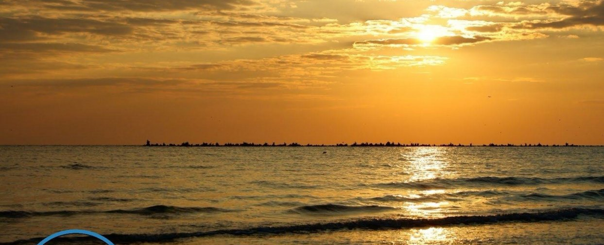 plaja mangalia la apus