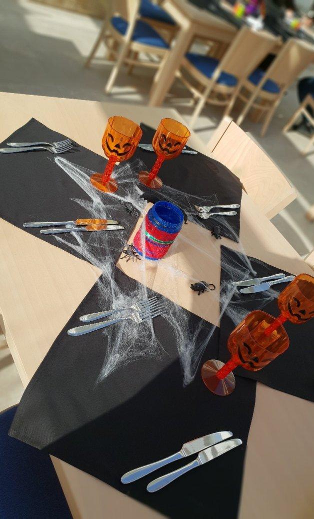 decoratiuni petrecere de halloween