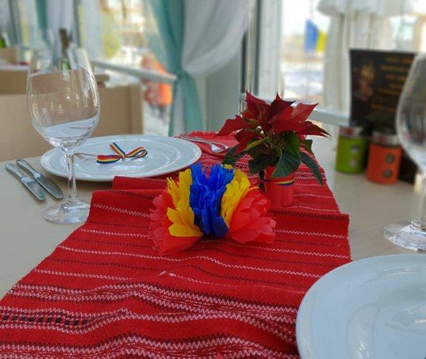 decoratiuni de 1 decembrie la restaurant mera brise