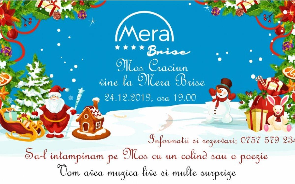 În Ajun de Crăciun 2019 la restaurantul Mera Brise Mangalia