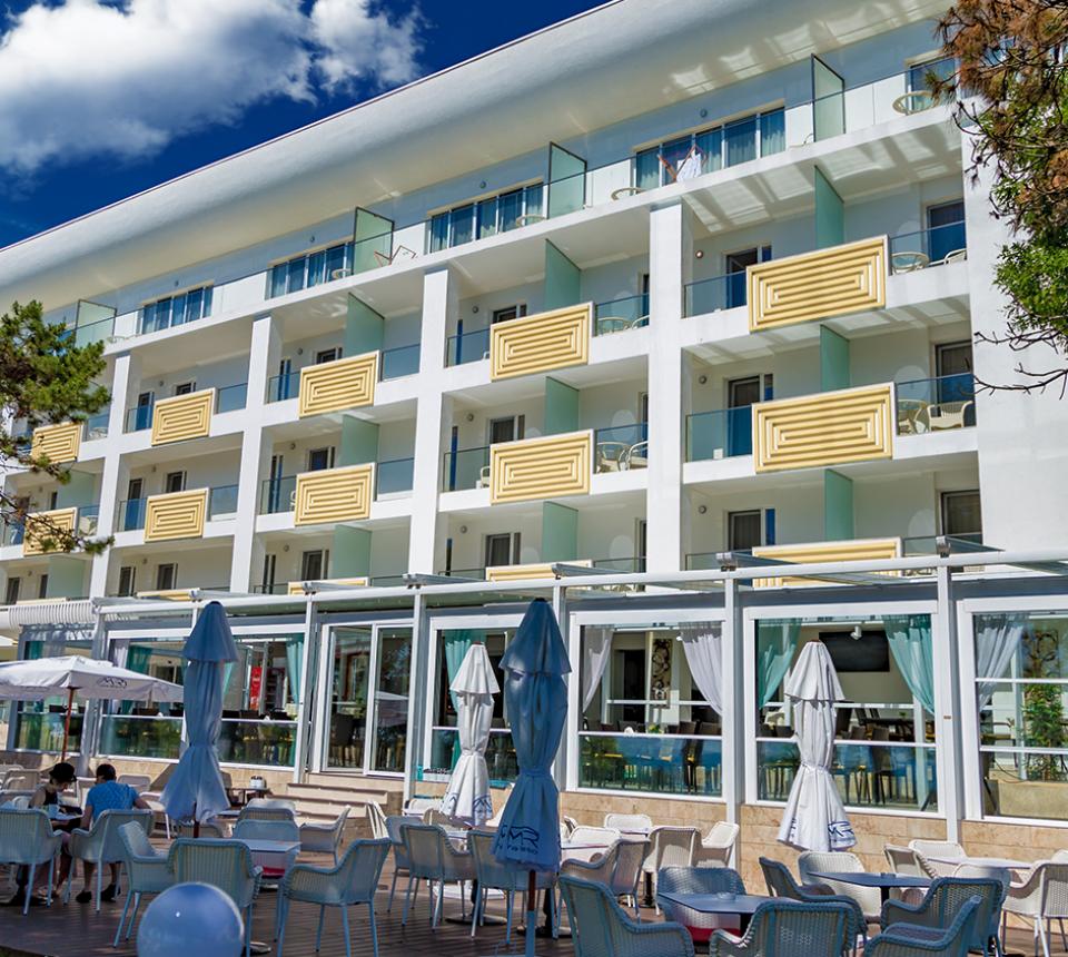 Plaja Mangalia - Mera Brise hotel