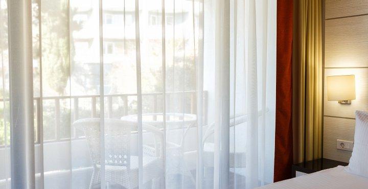 Cazare pe litoral la vile in Apartament Dublu - Vedere de pe balcon - Mera Resort