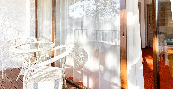 Cazare pe litoral la vile in Apartament Dublu - Balcon - Mera Resort