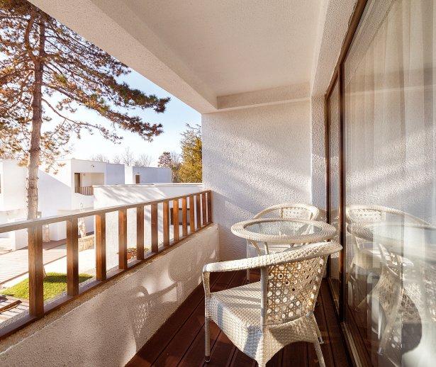 Vedere de pe balcon - Apartament Dublu - Mera Resort