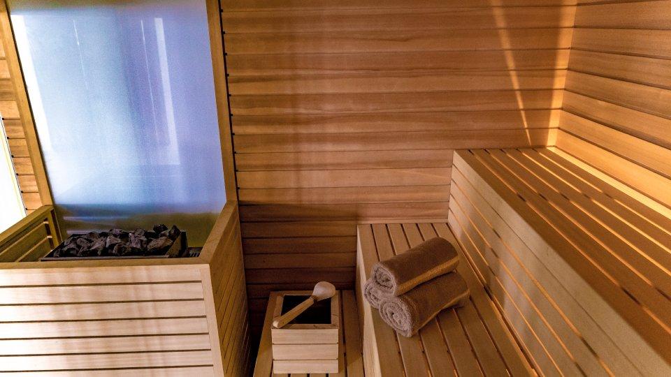 Mera Resort spa - sauna finlandeza