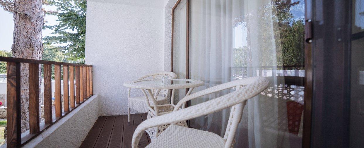 Cazare litoral vile - camere comunicante - balcon